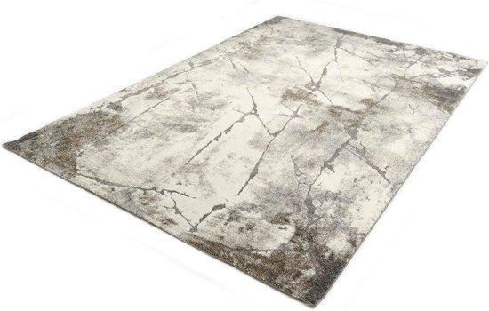 Marmer Design Vloerkleed - Ibiza 607-95 Earth - Grijs-Beige-160 x 230 cm