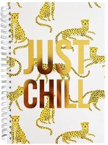 Notitieboek Notebook Just Chill | 14,8 x 21 cm (A5) | 100 pagina's (80 grams)