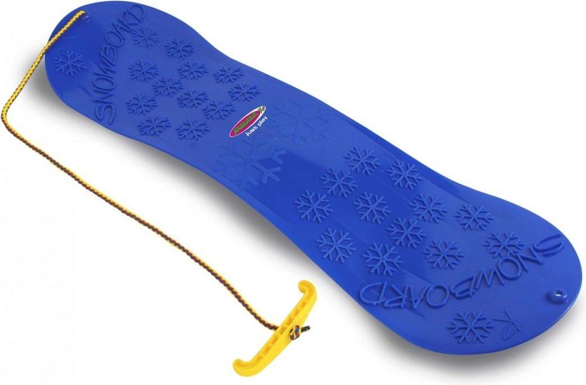 Jamara Snow Play Snowboard En Glijschotel Rood/blauw Junior
