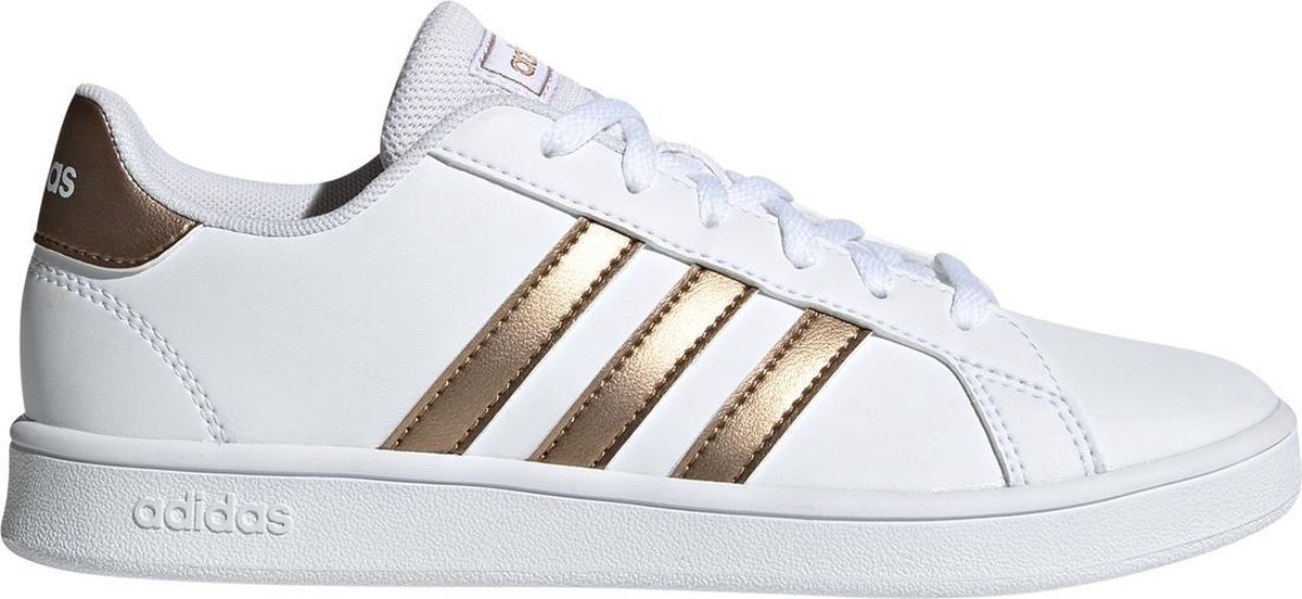 Witte adidas Sneakers Gran Court Kids