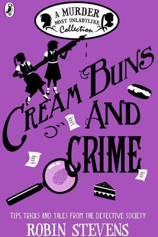 Boek cover Cream Buns and Crime van Robin Stevens (Onbekend)