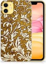 iPhone 11 Siliconen Hoesje Barok Goud
