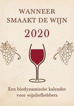 Wanneer smaakt de wijn 2020