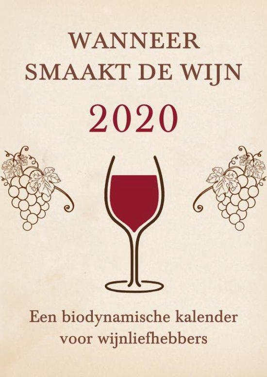 Wanneer smaakt de wijn 2020 - Matthias Thun |