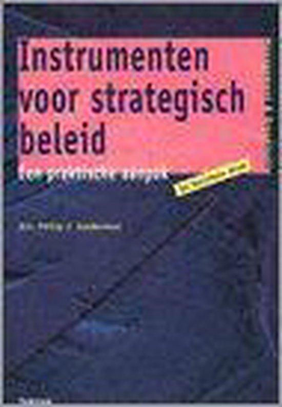 INSTRUMENTEN STRATEGISCH BELEID DR 2 - Philip J. Gelderman pdf epub