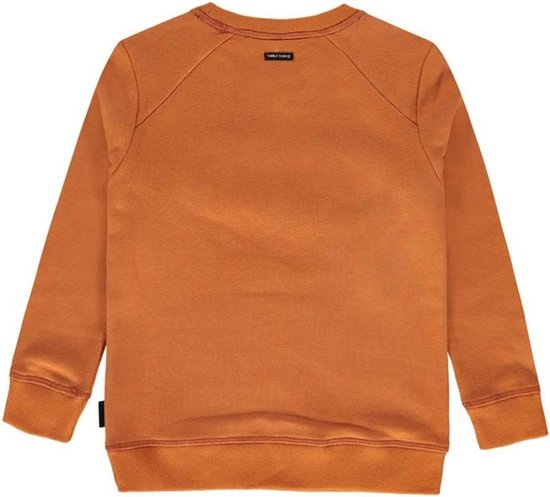 Tumble 'n dry Jongens Sweater Osmel - rust - Maat 116 - Tumble 'N Dry