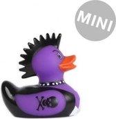 Deluxe Mini Punk Rocker Duck van Bud Duck: Mooiste Design badeend ter Wereld