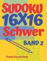 Sudoku 16x16 Schwer - Band 2