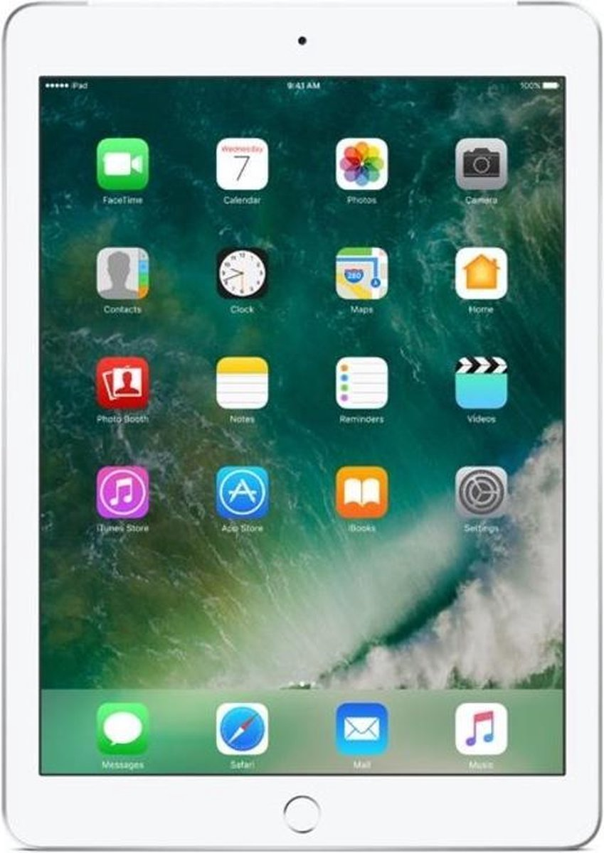 Apple iPad (2018) refurbished door Forza - B-Grade (Lichte gebruikssporen) - 32GB - Cellular (4G) - Zilver