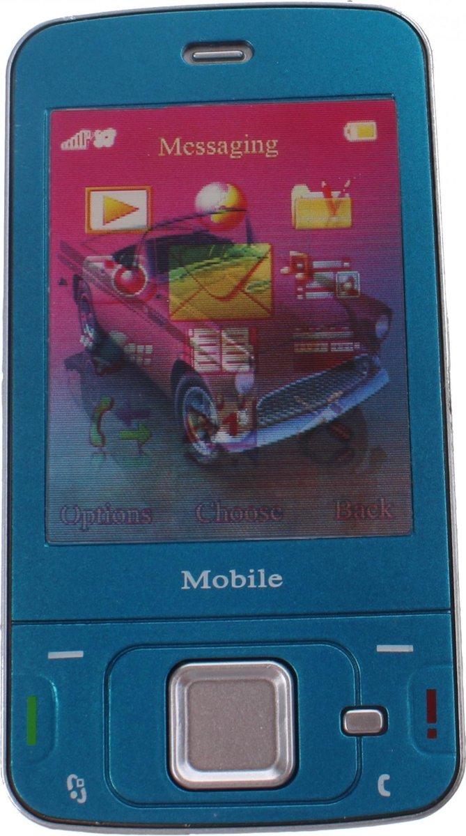 Johntoy Mobiele Speelgoed Telefoon Blauw 13 X 5.5