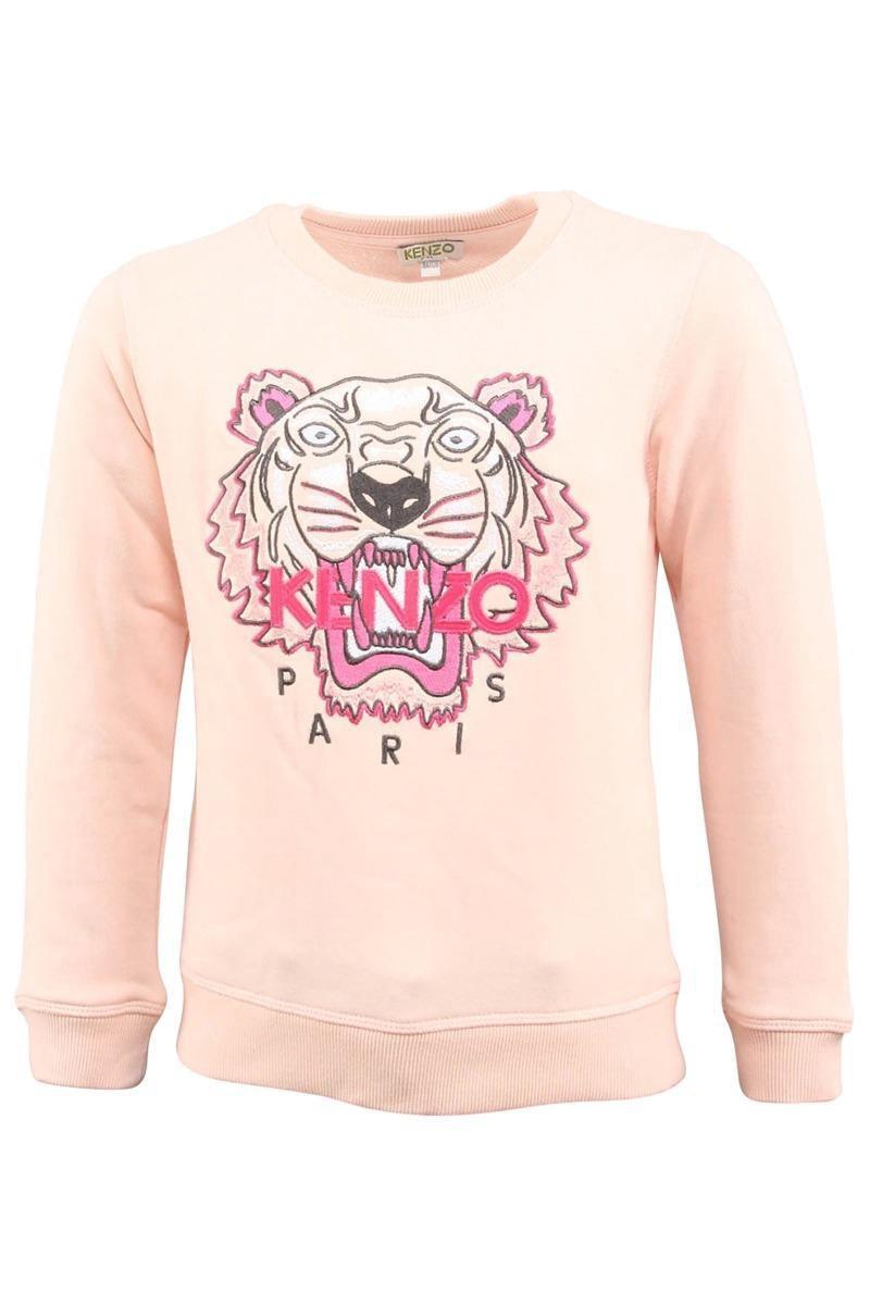 Kenzo Sweater Tiger Light Pink Roze | Winkelstraat.nl