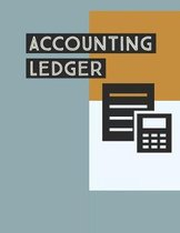 Accounting Ledger: Income Expense Accounting Book Sheets Simple Layout 8-1/2 X 11, 120 Pages