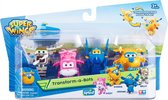 Super Wings Speelfiguren Mini Jerome, Donnie, Dizzy, Bello