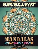 Excellent Mandalas Coloring Book