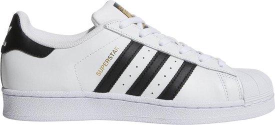 adidas Superstar Sneakers  Sportschoenen - Maat 40 - Unisex - wit/zwart/goud