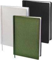 Dresz Rekbare Boekenkaft - Army (zwart / grijs / groen) - A4 - 3-pack