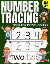 Number Tracing Book for Preschoolers: Trace Numbers Practice Workbook & Math Activity Book (Pre K, Kindergarten and Kids Aged 3-5)
