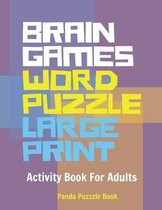 Brain Games Word Puzzle Large Print