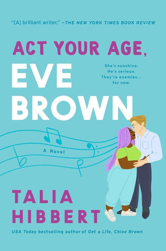 Boek cover Act Your Age, Eve Brown van Talia Hibbert (Onbekend)