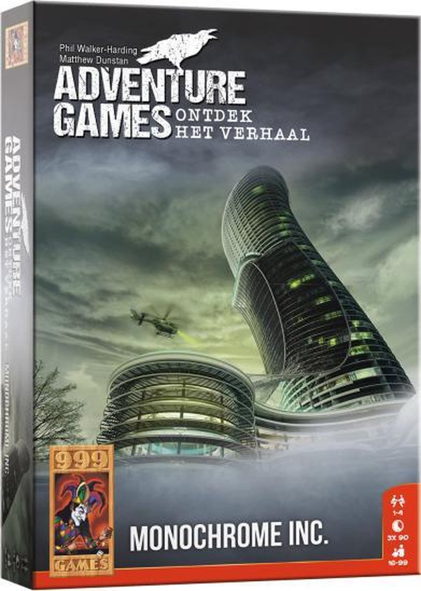 999 Games Actiespel Adventure Games - Monochrome Inc