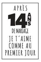 Noces De Plomb, Carnet De Notes: Id�e Cadeau Original Et Utile Pour C�l�brer 14 Ans De Mariage, Pour Elle Ou Pour Lui