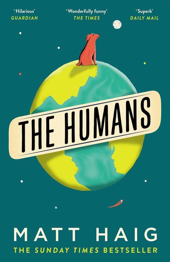 Boek cover The Humans van Matt Haig (Paperback)