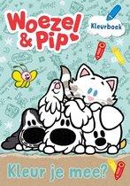 Boek cover Woezel & Pip  -   Kleur je mee? van