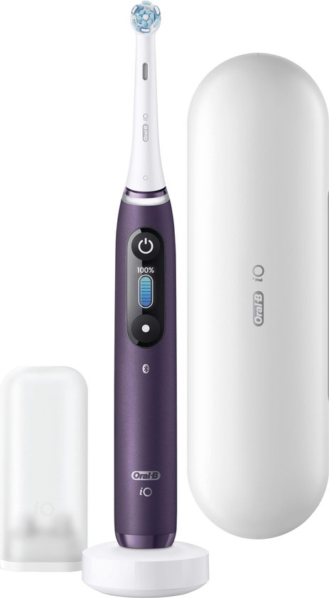 Oral-B iO - 8n - Elektrische Tandenborstel Paars Powered By Braun