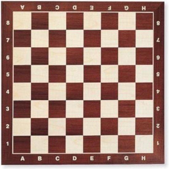 Afbeelding van het spel Dal Negro Schaakbord 42 X 42 Cm Hout Bruin/wit