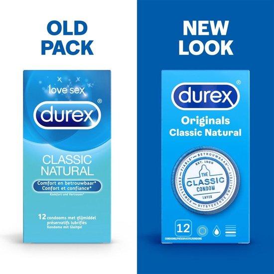 Durex Originals Condooms Classic Natural - 12 stuks