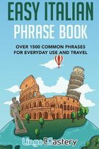 Boek cover Easy Italian Phrase Book van Lingo Mastery