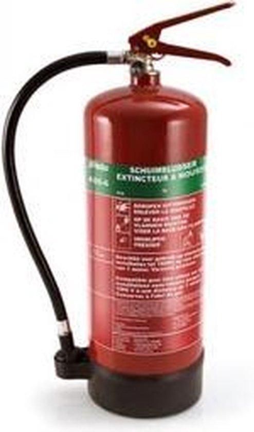 Alecto ABS-6 Schuim brandblusser 6l - ideaal voor thuis - werkplaats - Alecto