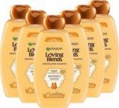 Garnier Loving Blends Honing Goud Herstellende Shampoo - 6 x 300 ml - Voordeelverpakking