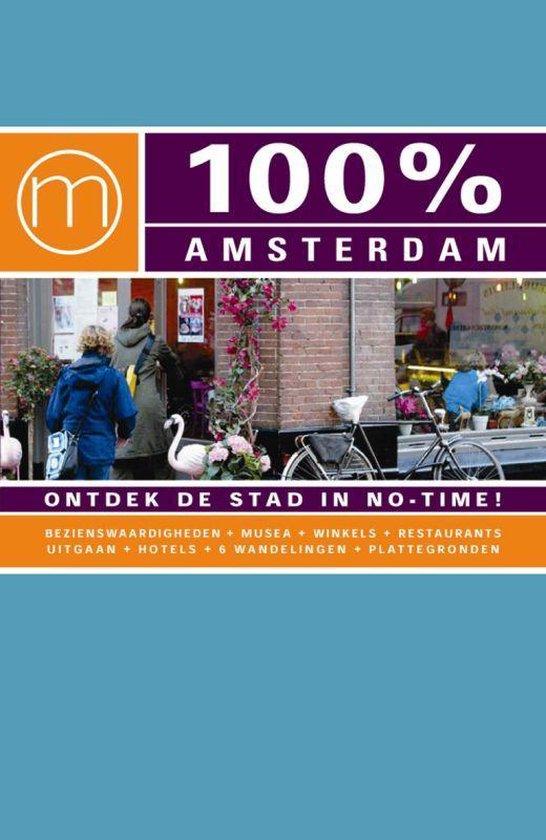 Cover van het boek '100% Amsterdam' van S. van Rijn