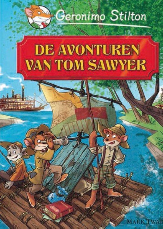 Boek cover De avonturen van Tom Sawyer van Geronimo Stilton (Hardcover)