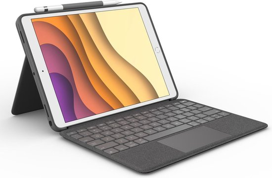 | Logitech Apple iPad Air 10.5 Combo Touch QWERTY