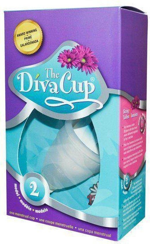 DivaCup Herbruikbare Menstruatiecup - Type 2 - Large