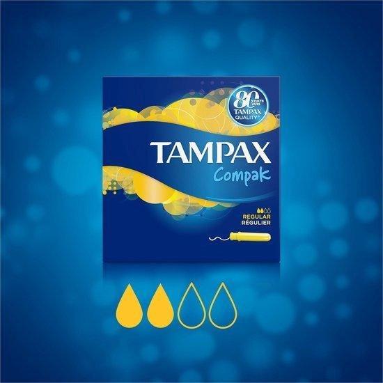 TAMPAX COMPAK REGULAR GP X36 - Tampax