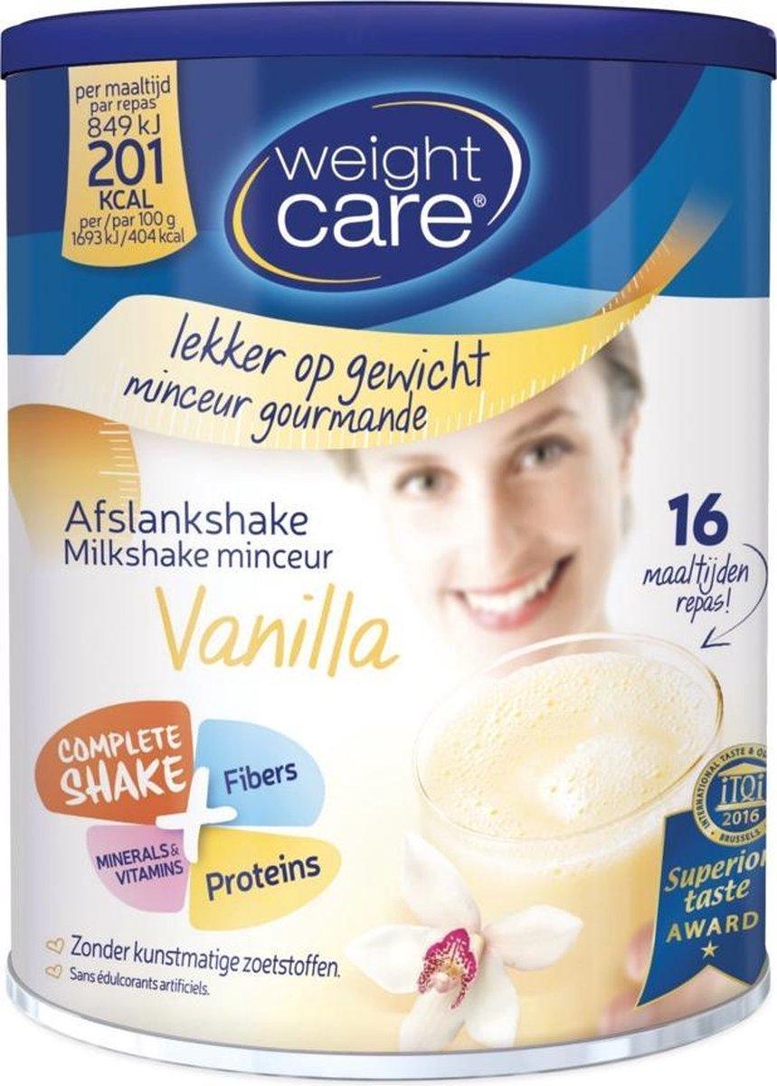 Weight Care Milkshake Drinkmaaltijd - Vanille - 436 gram - 16 maaltijden