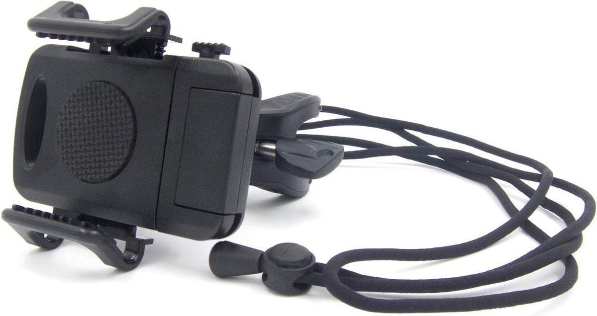 Granboard Telefoonhouder Universeel Zwart 2-delig