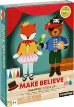 Magneetboek Dressup - Make believe | Petit Collage