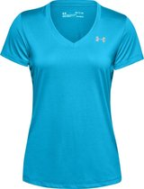Under Armour Tech S/Sv Solid Fitness Shirt Dames - Maat M