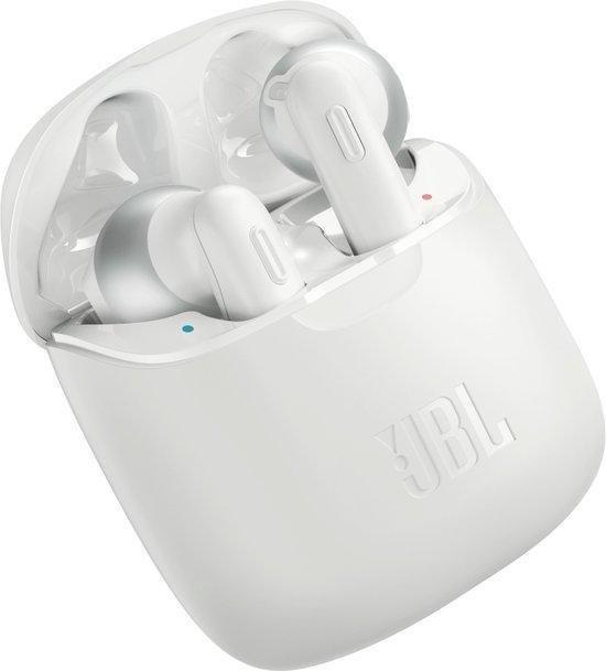 JBL Tune 220TWS – Volledig draadloze oordopjes- Wit