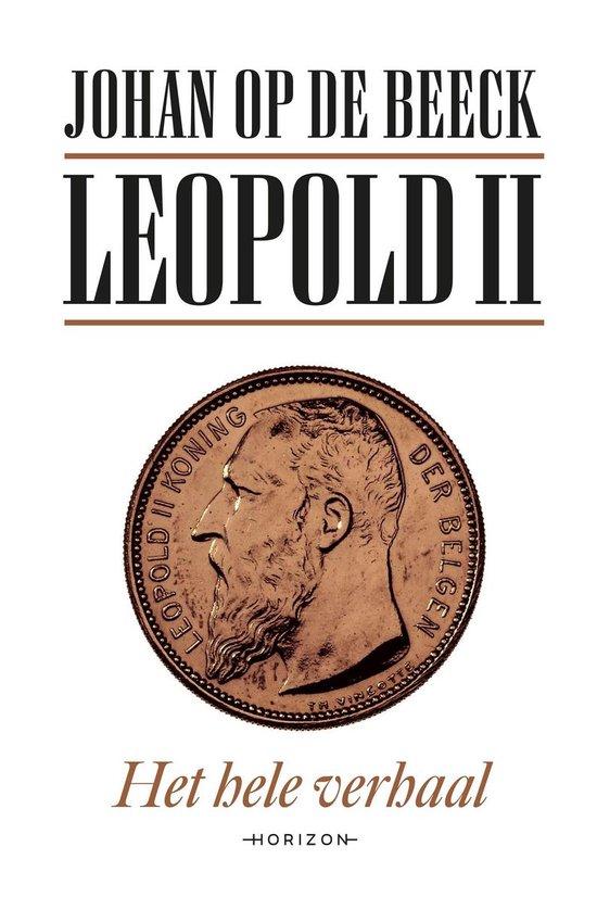Boek cover Leopold II van Johan op de Beeck