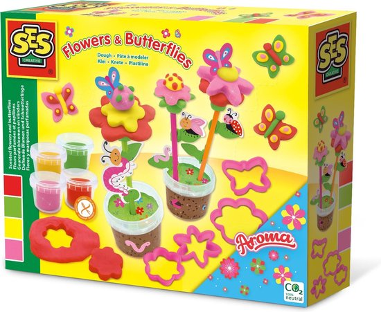 Klei – Geurende bloemen en vlinders