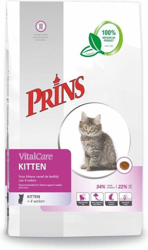 Prins VitalCare Kitten - Kattenvoer - 10 kg