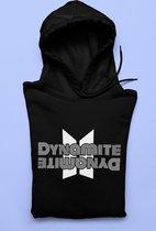 BTS Dynamite Single Fan Merchandise Hoodie   Army Kpop Bangtan Boys   Jungkook J-Hope Rapmon Jimin TaeHyung Jin   Zwart Maat L