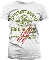A NIGHTMARE ON ELM STREET - T-Shirt Springwood High School GIRLY (XXL)
