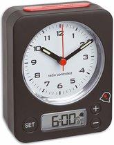 TFA Combi-Radiocontrolled Wekker 60.1511.01.05 - Zwart