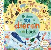 Boek cover Er zitten 101 dieren in dit boek van Rebecca Jones